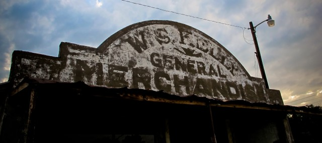 The abandoned General Store in Cogar, OK