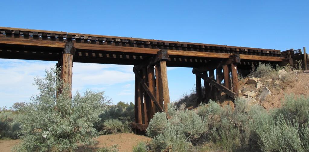 Breaking Bad Railroad Bridge near Santa Fe