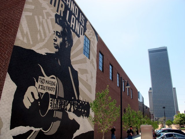 The Woody Guthrie Center in Tulsa