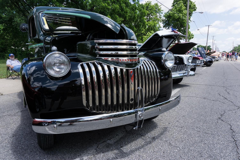 Rt PatriotFest Car Show Rhys Pieces - Rt 66 car show