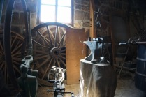 Inside the Blacksmith Shop