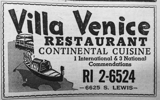1958 Villa Venice