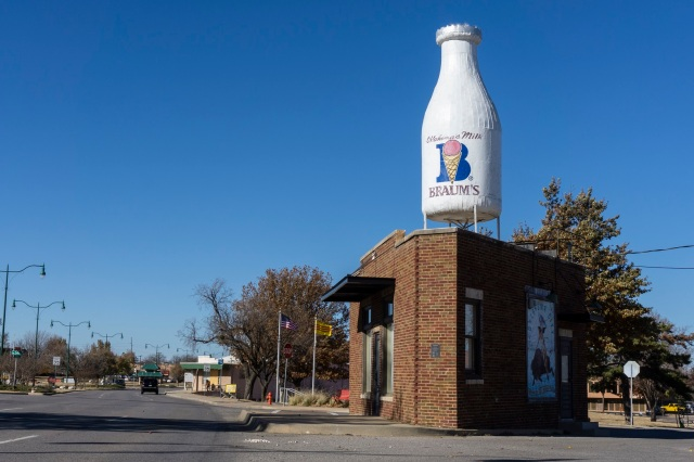 OKC Milk Bottle